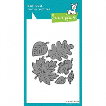 Lawn Cuts - Stitched Leaves