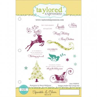 Taylored Expressions - Sparkle & Cheer