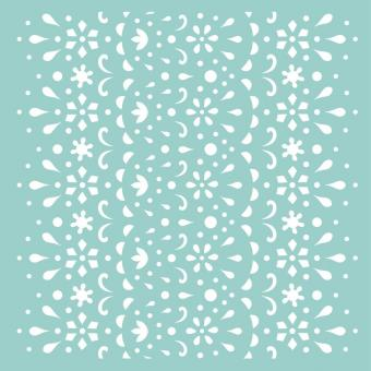 """Template 12""""X12"""" - Lace"""