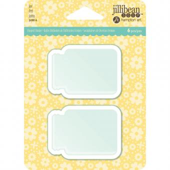 Jillibean Soup PVC Card Shakers - Jar