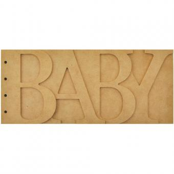 """Beyond The Page MDF Baby Album 11.5""""X5"""""""