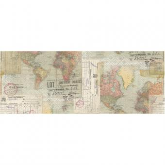Idea-Ology Collage Paper - Travel