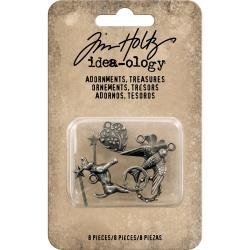 Idea-Ology Metal Adornments 8/Pkg