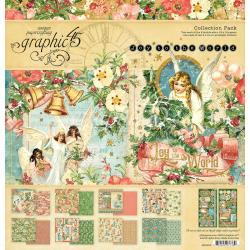 """Graphic 45 Collection Pack 12""""X12"""" Joy To The World"""