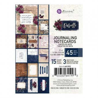 "Darcelle Journaling Cards 3""X4"" 45/Pkg"