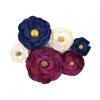 Prima Marketing Mulberry Paper Flowers Historic Moment/Darcelle