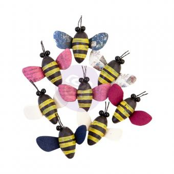 Prima Marketing Mulberry Paper Flowers Buzzing Around/Darcelle