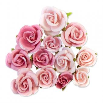 Prima Marketing Mulberry Paper Flowers - Cotton Candy/Dulce By Frank Garcia
