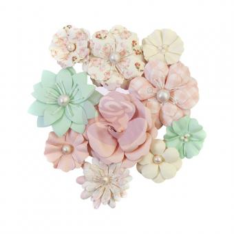 Prima Marketing Mulberry Paper Flowers - Cupcakes/Dulce By Frank Garcia