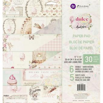 """Prima Marketing Double-Sided Paper Pad 12""""X12"""" Dulce By Frank Garcia"""