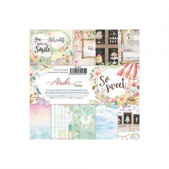 """Asuka Studio Double-Sided Paper Pack 6""""X6"""" - So Sweet"""
