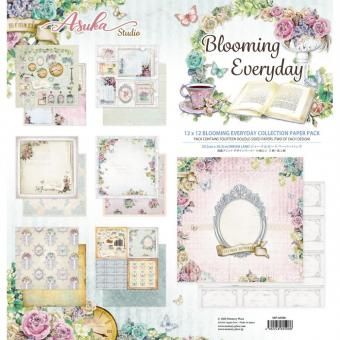 """Asuka Studio Collection Pack 12""""X12""""  Blooming Everyday"""