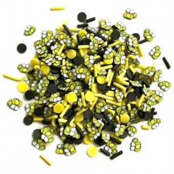 Buttons Galore Sprinkletz Embellishments - Bumble Bees