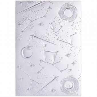Sizzix 3-D Textured Impressions Embossing Folder - Starscape