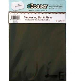 Magnetic Shim & Rubber Embossing Mat (1 set)