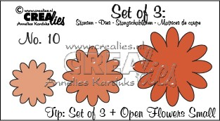 Set of 3 no. 10