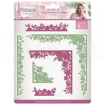 Crafter's Companion - Parisian Dies - Floral Borders and Corners