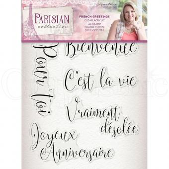 Crafter's Companion -Parisian Stamp - French Greetings