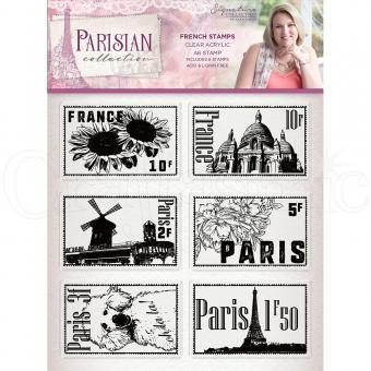 Crafter's Companion -Parisian Stamp - French Stamps