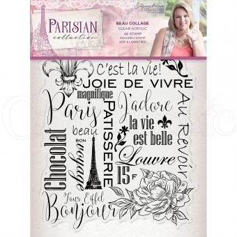 Crafter's Companion -Parisian Stamp - Beau Collage