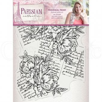 Crafter's Companion -Parisian Stamp - Provencal Peony