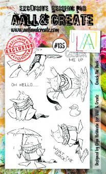 AALL and Create - Stamp Set Quack the Duck# 135
