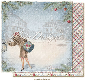 Maja Design - Christmas Season - Mail the Post Card