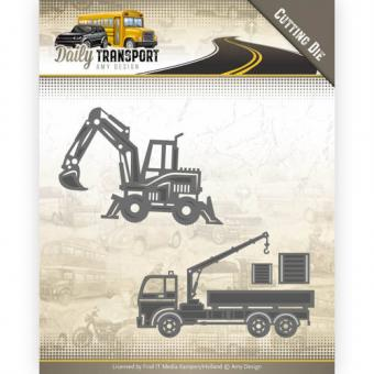 Find IT - Amy Design - Daily Transport - Construction Vehicles