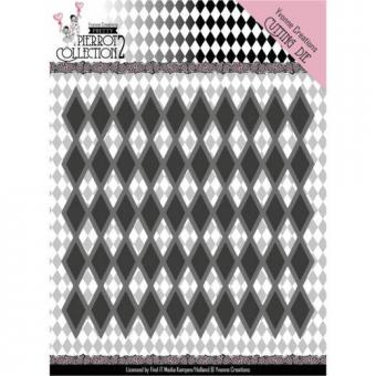 Pretty Pierrot 2 - Diamond Pattern