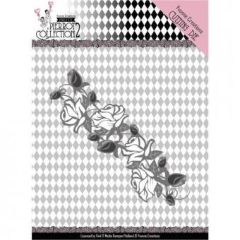 Pretty Pierrot 2 - Rose Border