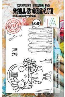 AALL and Create - A7 Stamp 510