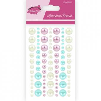 Adhesive Pearls - Yvonne Creations - Floral Pink