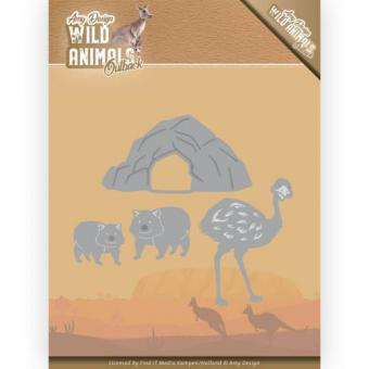Amy Design - Wild Animals Outback - Emu and Wombat