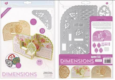 Tonic Studios - Dimensions - Staggered Stepper Card Creator Die Set