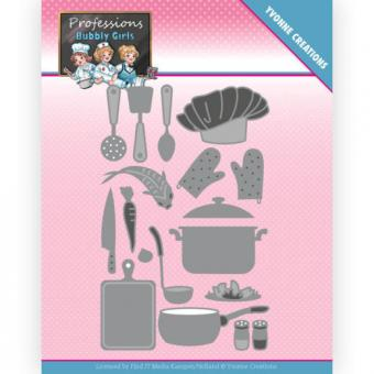 Yvonne Creations - Bubbly Girls - Professions - Kitchen Staff