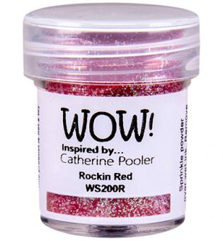 Wow! Embossing Glitters - Rockin Red