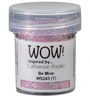 Wow! Embossing Glitters - Be Mine