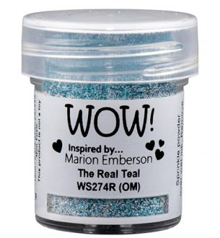 Wow! Embossing Glitters - The Real Teal