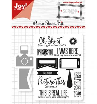 Scrap Snijstencils & Stempels - Photo Shoot Kit