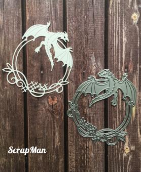 Scrapman - Frame with dragon