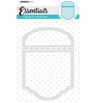 Cutting and Embossing Die Cut, Essentials nr. 198