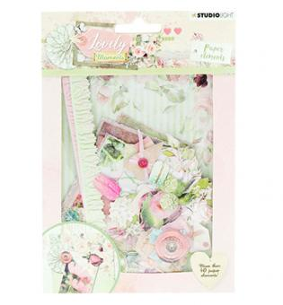 Die Cut Paper Set Lovely Moments nr.653