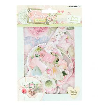 Die Cut Paper Set Lovely Moments nr.654