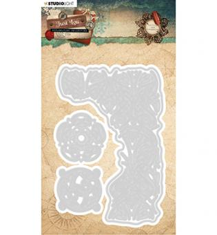 Studio Light- Embossing Die Cut Just Lou Exploration Collection nr.02