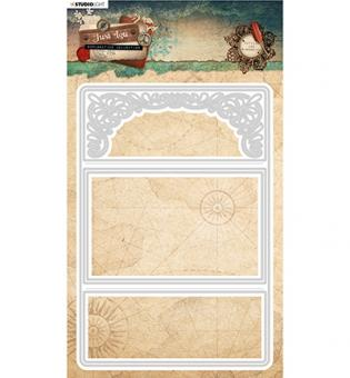 Studio Light- Embossing Die Cut Just Lou Exploration Collection nr.04
