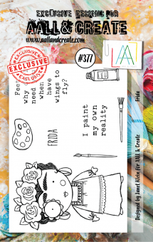AALL and Create - A7 Stamp #377