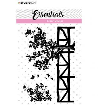 SL Clear Stamp Fence/trees Essentials nr.25