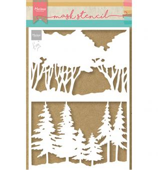Marianne Design - Mask Stencil - Tiny's Forest