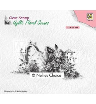 Nellies Choice - Vase with roses