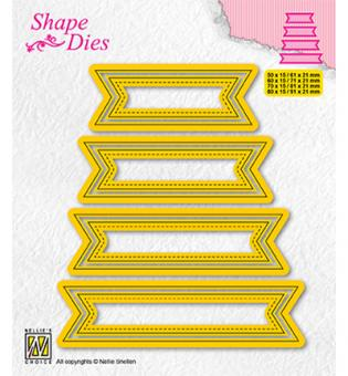 Nellies Choice Multi Frame Die - Set of 4 tags-1